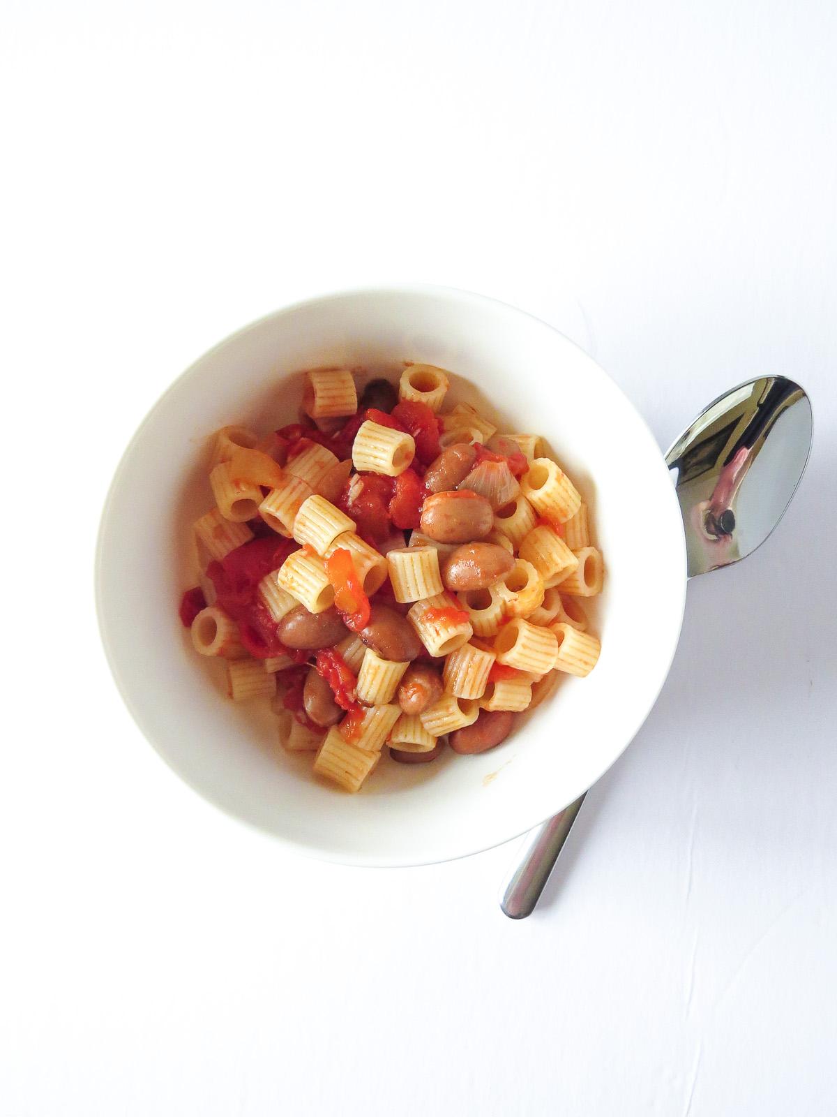 Pasta e Fagioli (aka. Pasta & Beans)