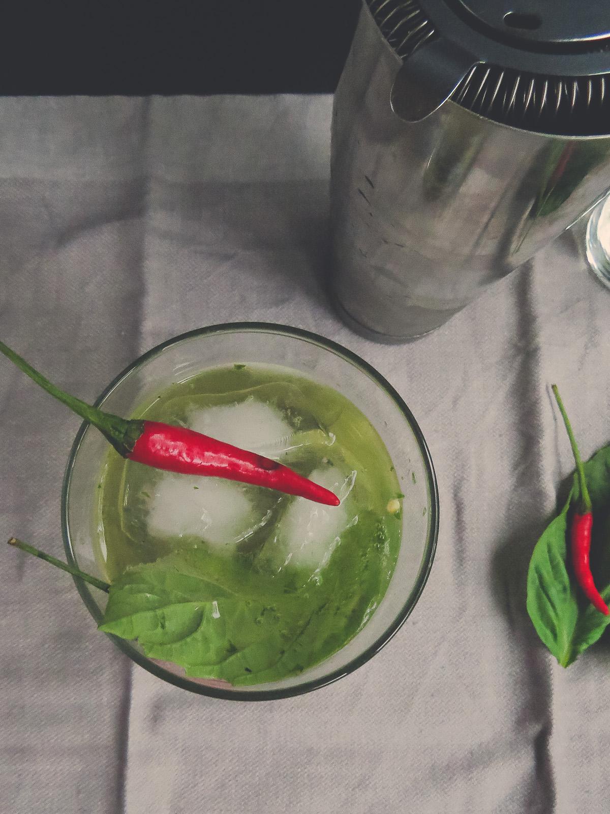 Thai Red Chilli Basil Fizz