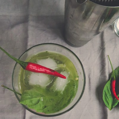 Thai Red Chilli Basil Fizz