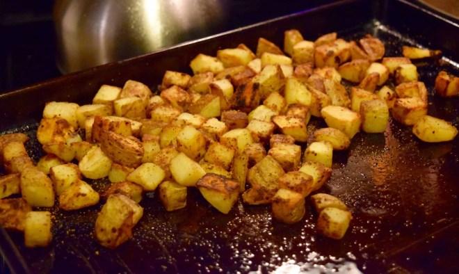 cheesy fiesta potatoes
