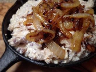 Pan Fried Onion Dip