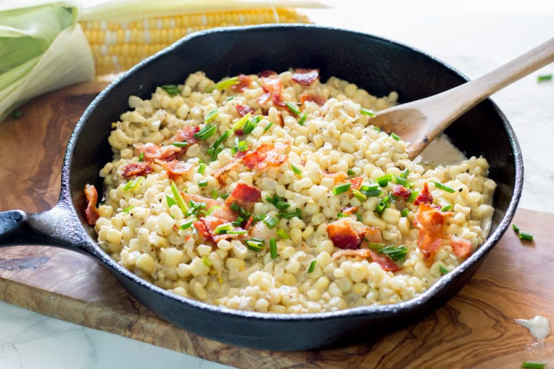 Delicious, creamy homestyle creamed corn - So easy and so quick you'll never open another can again!