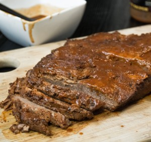 Instant Pot BBQ Brisket! No smoker? No problem. You pressure cooker will turn out a bad-A brisket in a fraction of the time. Promise.
