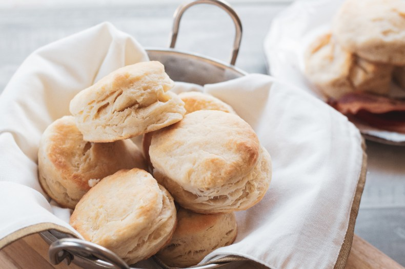 No fail sky high buttermilk biscuits!  AKA Biscuits for dummies.