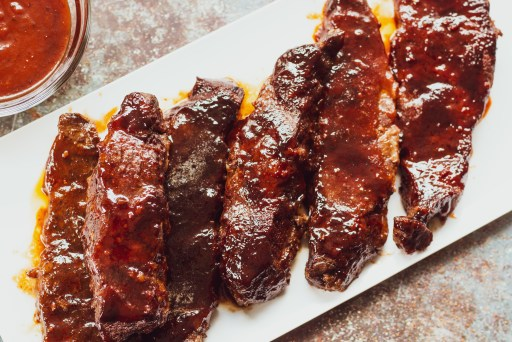 Instant Pot BBQ Boneless are The Truth! A true dump and go recipe that yields tender, magical goodness!