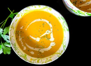 Butternut Squash soup in your Instant Pot. Silky soup in 10 minutes!