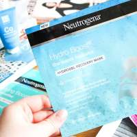 Best of Drugstore Skincare | Neutrogena Hydrogel Recovery Masks