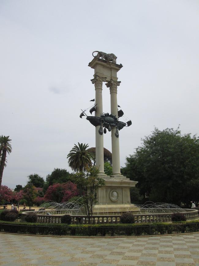 Monument Seville Spain