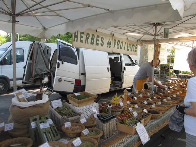 Arle, France Market