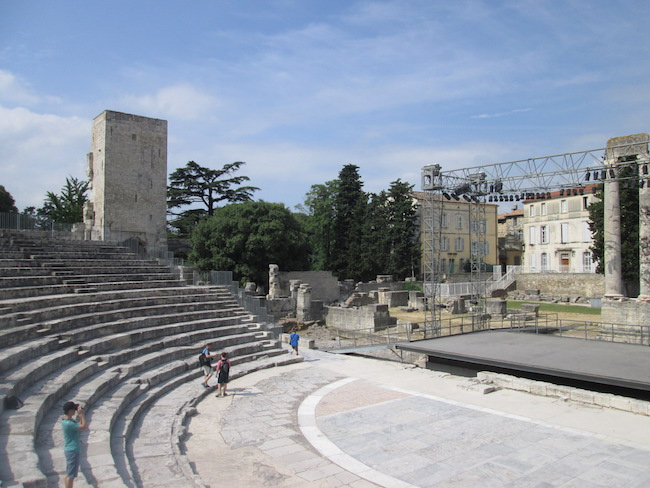 This amphitheater has existed since Roman times