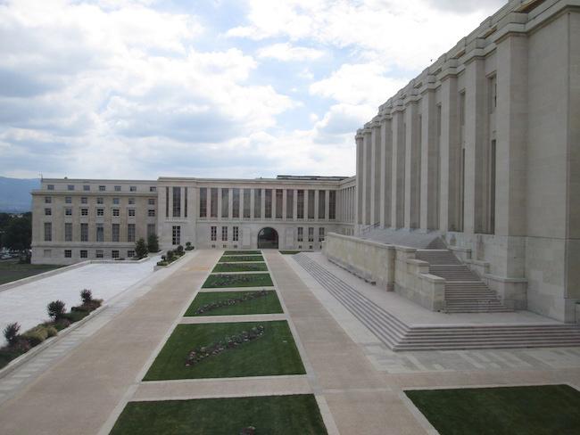 UN Building Tour Geneva Switzerland