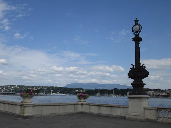 Rhone River Geneva Switzerland