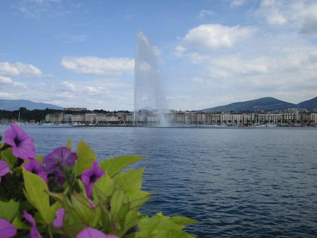 Fountain Geneva Switzerland