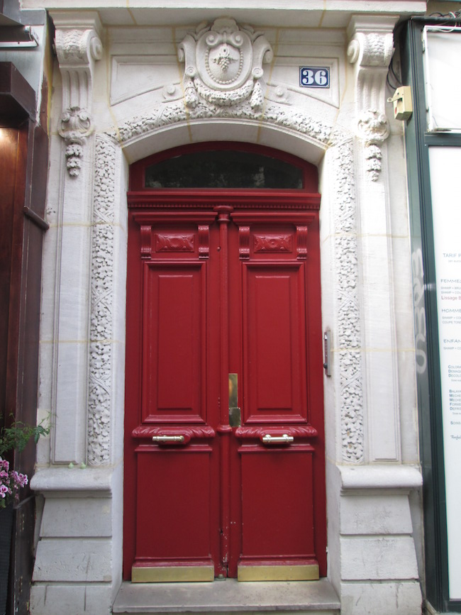 The beautiful red doors