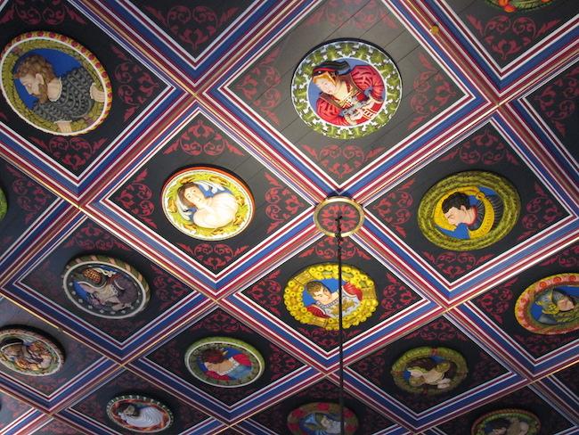 Stirling Castle ceiling