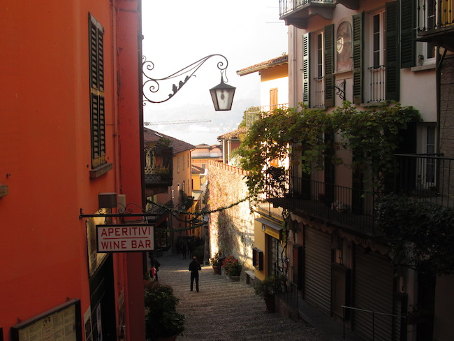 The streets of Bellagio