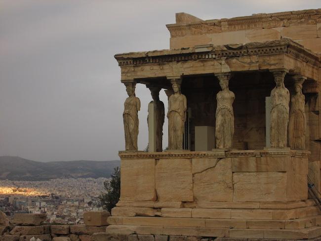 Erechtheion, Athens, Greece
