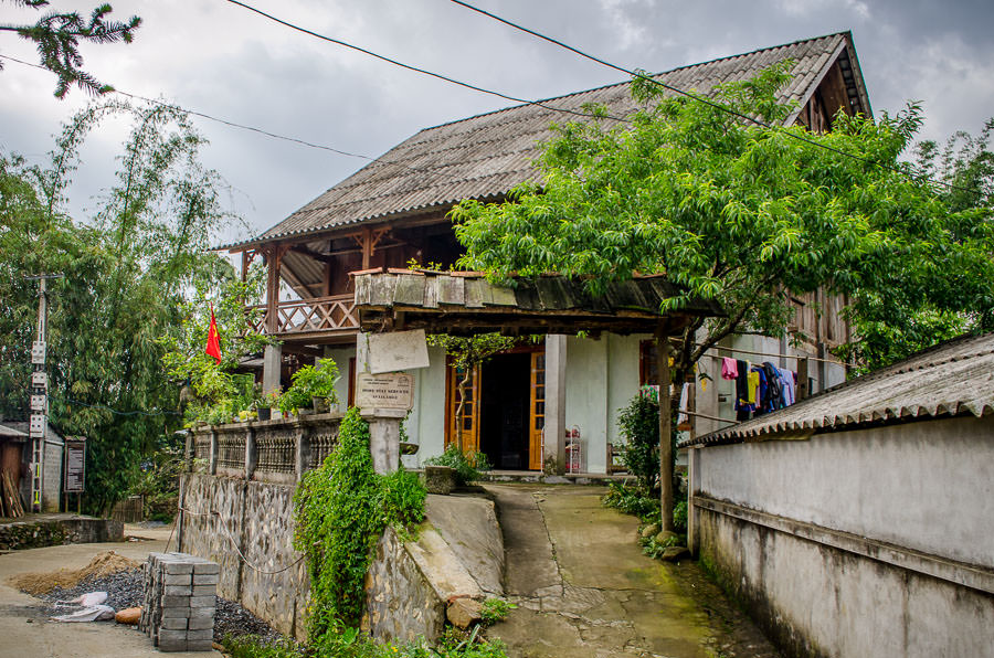 Homestay in Ta Van Village outstide of Sapa, Vietnam.