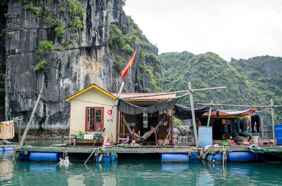 Cong Dam Fishing Village in Ha Long Bay
