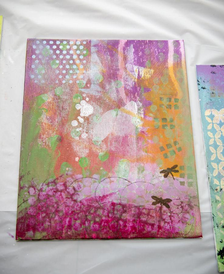 A colorful canvas