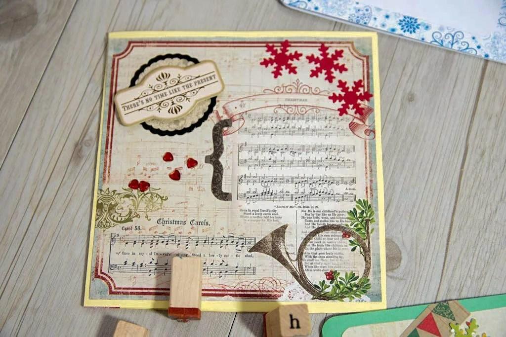 tarjeta de navidad diy