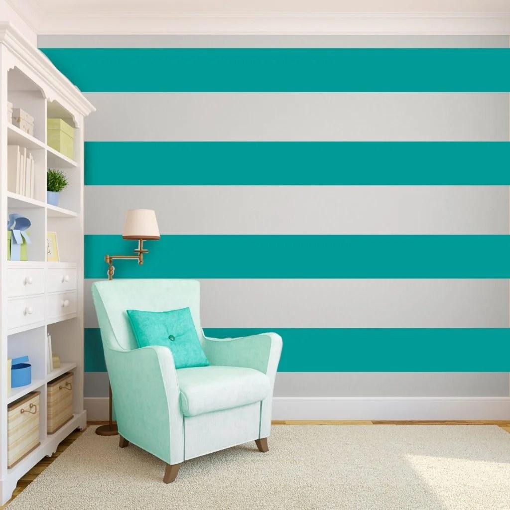 10 Ideas Para Pintar Paredes Imitando Papel Pintado - Ideas-pintar-paredes