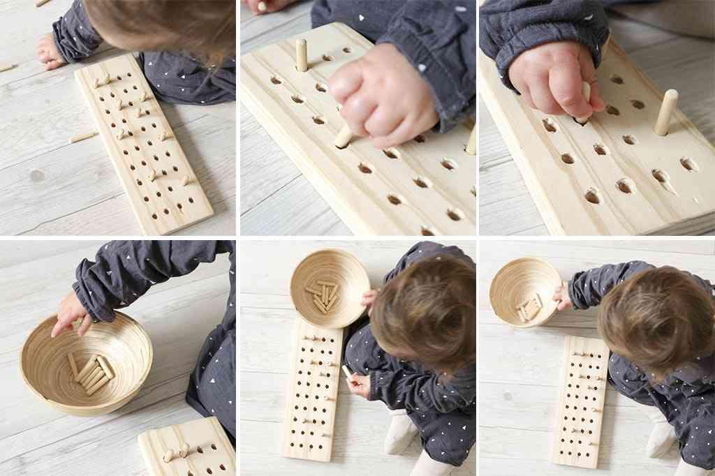 Juegos Montessori Caseros The Beautiful Project