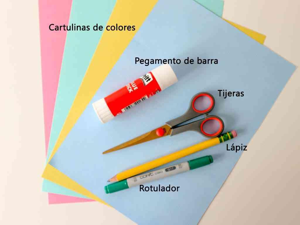 materiales para hacer manualidades de primavera