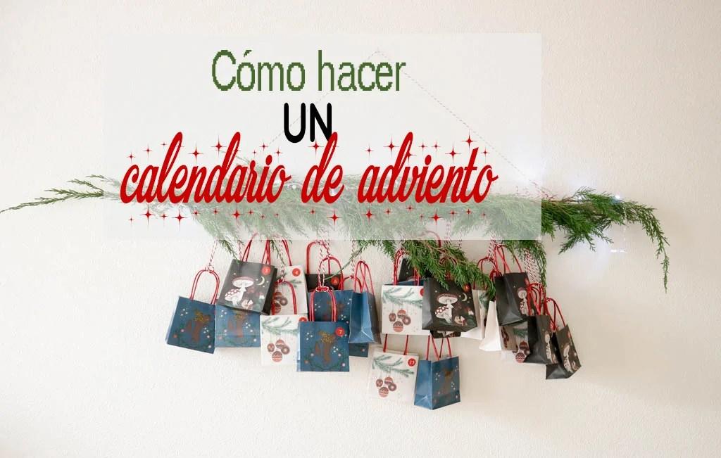 Calendario De Adviento Casero.Como Hacer Un Calendario De Adviento Casero The Beautiful Project