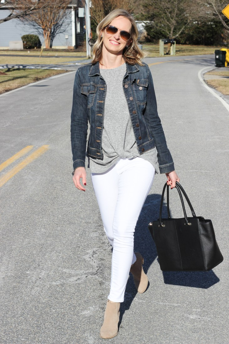 EVERY DAY CASUAL OUTFIT | MOM OUTFIT | CASUAL OUTFIT | SPRING TRANSITION OUTFIT