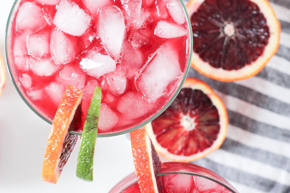 The Best Blood Orange Margarita