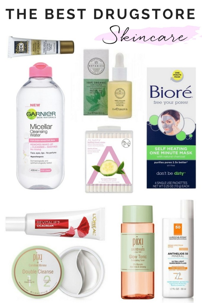 THE BEST DRUGSTORE SKINCARE PRODUCTS | TOP DRUGSTORE SKINCARE PRODUCTS | BEST DRUGSTORE SKINCARE FOR MATURE SKIN | BEST DRUGSTORE SKINCARE FOR SENSITIVE SKIN | BEAUTY TIPS | ANTI AGING | ROSACEA | BUDGET SKINCARE PRODUCTS |