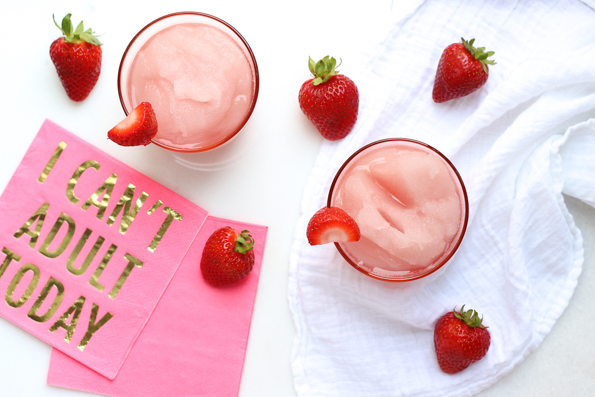 Celebrate 4th of July with a Frozen Rosé Summer Cocktail