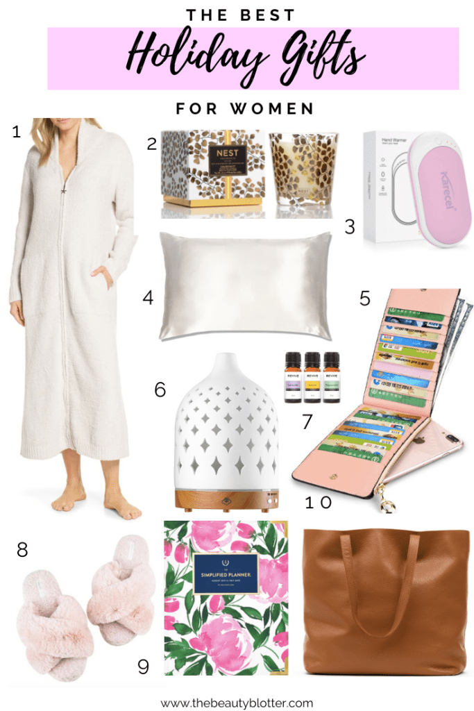 THE BEST HOLIDAY GIFTS FOR WOMEN | I am sharing the best holiday gifts for women.  There is something for every budget and woman on your list, from  mom to your babysitter, I have you covered.