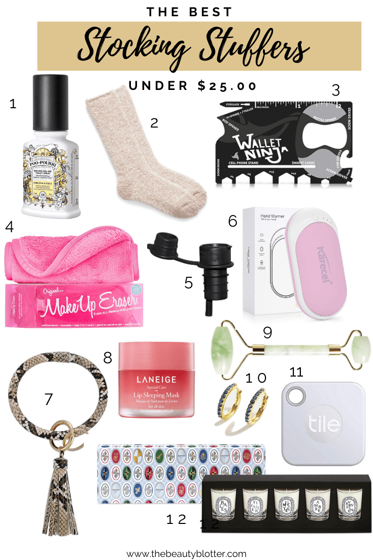 THE BEST STOCKING STUFFERS UNDER $25.00 | There is something for everyone on your list so you can finish your shopping.
