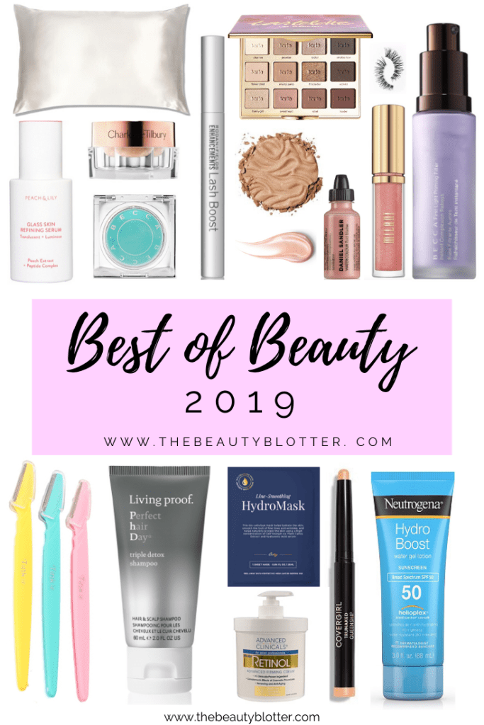 MY BEST 18 BEAUTY PRODUCTS OF 2019 | I am sharing my best  and new favorite beauty products from the last year with you on today's blog post.