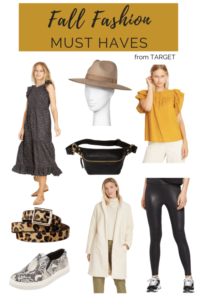 AFFORDABLE FALL FASHION FINDS FROM TARGET | I am sharing a few affordable fall fashion pieces from Target style that won't break the bank.