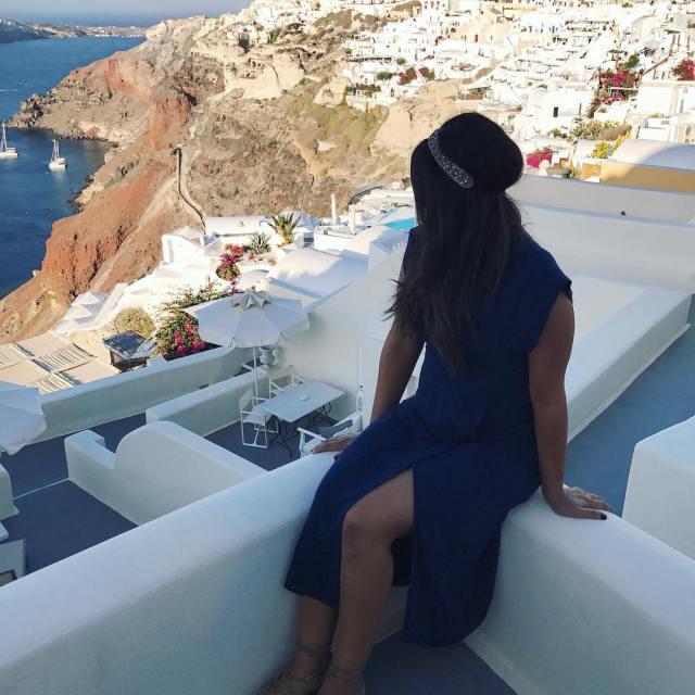 traveltuesday take me back to Santorini thebeautygirlreport