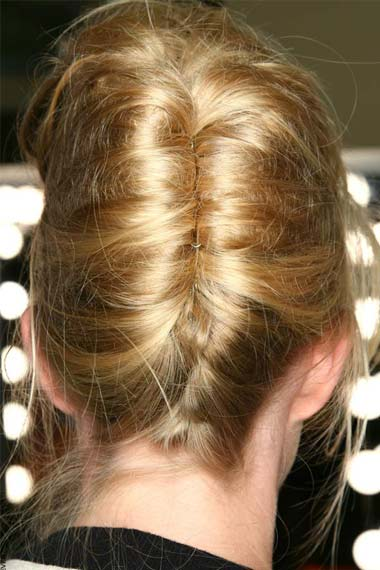 Trendy And Easy To Make Chignon Hairstyle