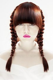 pigtails hairstyle fall