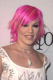 celebrity inspired pink hairstyles