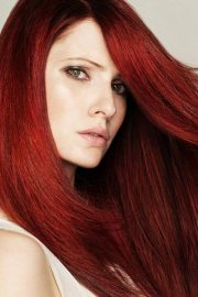 red hair color trends 2012