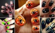 7 easy diy halloween nail art ideas