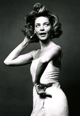 Lauren Bacall. A well designed woman