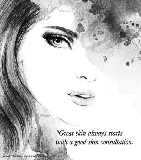skin consultation