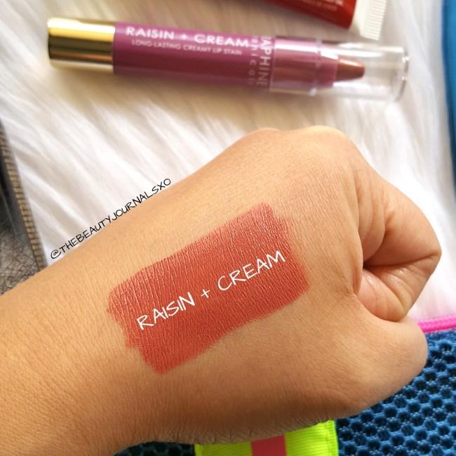Seraphine Botanicals Raisin +Cream Lip Stain