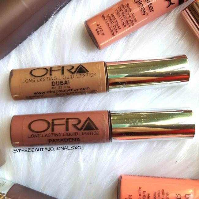 Ofra Long Lasting Liquid Lipsticks