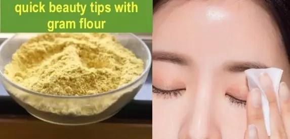 gram flour benefits