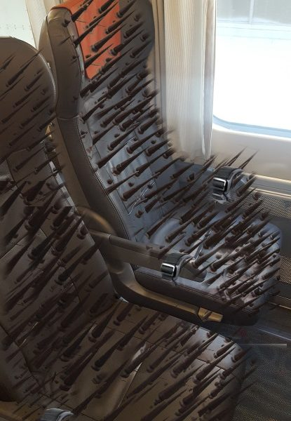 chairs for lower back pain office chair with adjustable via rail installs new sadomasochist seats economy class - the beaverton