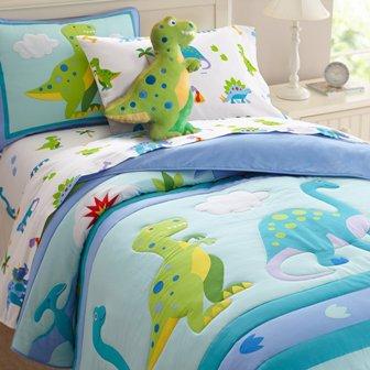 Amazing Olive Kids Dinosaur Land Full Comforter Set